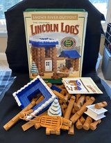 Lincoln Logs Snowy River Outpost in Batavia, Illinois