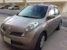 Price Reduced -- 2007 Nissan March, LOW Mileage, NEW Brake Pad, Fan Belt, A/C Belt in Okinawa, Japan