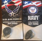 Air Force/Navy Key Rings in Bolingbrook, Illinois