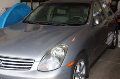 G35 Infinity 2003 First Year of The Model in St. Charles, Illinois