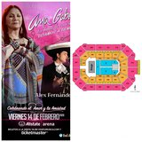 Ana Gabriel tickets! Excellent seats! Section 1! in Bolingbrook, Illinois