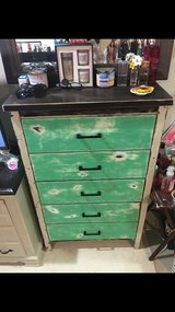 rustic dresser in Okinawa, Japan