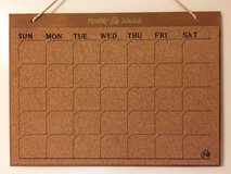 Monthly Schedule Board(Price Reduced!) in Okinawa, Japan