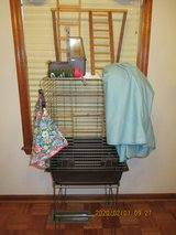 Bird/Parrot Cage & Stand + more in Beaufort, South Carolina