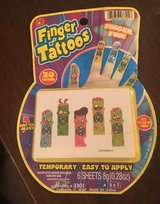 Finger Tattoos in St. Charles, Illinois