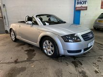 2006 Audi TT Roadster in Lakenheath, UK