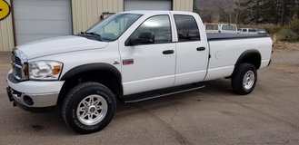 2008 Dodge Ram 3500 single wheel, 6.7 Cummins, Quad cab ,LB , 4x4, auto, Lone Star SLT, in Alamogordo, New Mexico