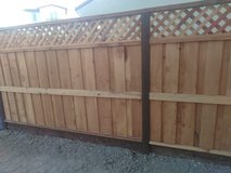 Fence works in Travis AFB, California