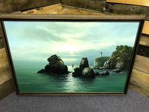 LARGE FRAMED OIL PAINTING in Beaufort, South Carolina