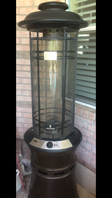 The Inferno Central Flame Gas Patio Heater in Kingwood, Texas