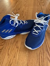 men's size 10 adidas basketball shoes in Naperville, Illinois