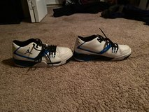 9.5 black and blue Jordan's in Kingwood, Texas