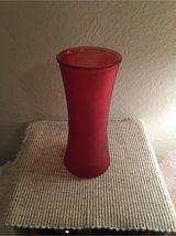Red Vase - Perfect for Valentines Day in Fort Hood, Texas
