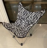 Zebra Lounging Chair in Okinawa, Japan