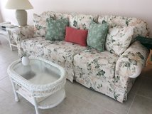 Beautiful Pastel Floral Pattern Couch in Beaufort, South Carolina