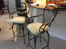 Counter Upholstered Swivel Chairs in Beaufort, South Carolina