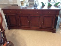 Cherry Console. Reduced! in Beaufort, South Carolina