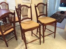 Ethan Allen Country French Counter Hi Chairs in Beaufort, South Carolina