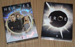 Heroes Complete Season 3 DVD 6 Disc Box Set in Morris, Illinois