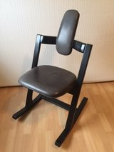 Stokke Varier Pendulum rocking chair - leather in Ramstein, Germany