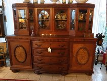 spacious 2 piece dining room hutch in Ramstein, Germany