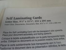 Self laminating sheets Uline 64 of them in Fort Bragg, North Carolina