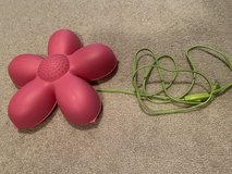 Flower wall lamp for girls room in Aurora, Illinois