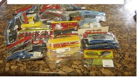 57 Bags Soft Bait Fishing  Lures Multi Brands  Closeout  $2 ea. in Denton, Texas