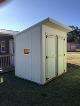 6x8 Cottage Shed in DeRidder, Louisiana