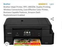 All in One color inkjet printer - Brother in Beaufort, South Carolina
