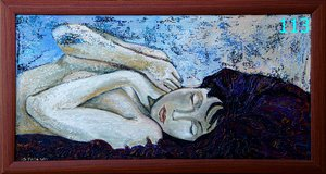 Sleeping Beauty Unique and Handmad Painting in Ramstein, Germany