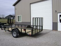"Trailer A-F with 3.5K Singel Axel, 6'4""X12'@1155 in Fort Campbell, Kentucky"
