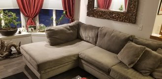 Gray Sectional Sofa in Yorkville, Illinois
