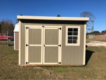 8x12 Cottage Shed in DeRidder, Louisiana