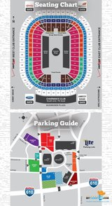 Chance the Rapper- 4 tickets & Blue lot Parking (Sec 129 Row F) in Houston, Texas