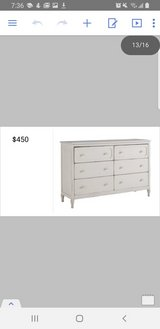 white dresser in San Diego, California