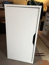 White computer / storage cabinet in Ramstein, Germany
