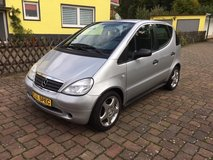 Mercedes-Benz A-160 AUTOMATIC, A/C, Multimedia, Power Moonroof, New Service, New TÜV!! in Ramstein, Germany