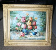 vintage oil painting in Westmont, Illinois