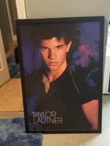 Large Taylor Lautner Framed Picture in Orland Park, Illinois