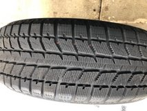 Snow Tires - only 100 miles on them in Westmont, Illinois