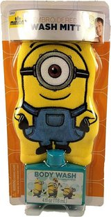 NEW Kids Despicable Me Minions Bath Wash Mitt and Body Wash Gift Pack in Morris, Illinois