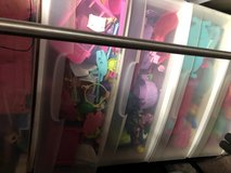 Polly pockets large size three pull out drawer tote in Fort Riley, Kansas