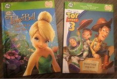 2x Leap Frog Tag Books Tinker Bell+Toy Story 3 in Ramstein, Germany