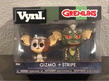 Gremlins Gizmo & Stripe Vynl Collectibles Brand New in Fairfield, California