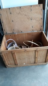 VIETNAM ERA PLYWOOD SHIPPING CRATE in 29 Palms, California