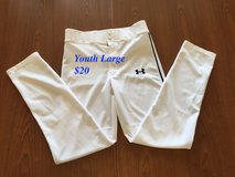 Like new- Under Armour baseball pants YLG in Okinawa, Japan
