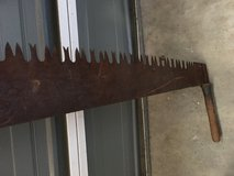Antique saw in San Diego, California