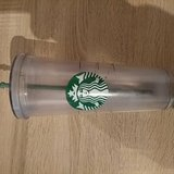 Starbucks thermostat big cup in Spangdahlem, Germany