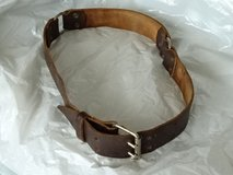 Strong belt - leather  43 inch, old vintage - cosplay(?) in Ramstein, Germany